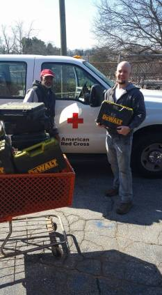 Red Cross Tool Load Out